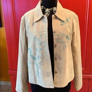 NWOTColdwater Creek Leather Jacket! Great for Fall